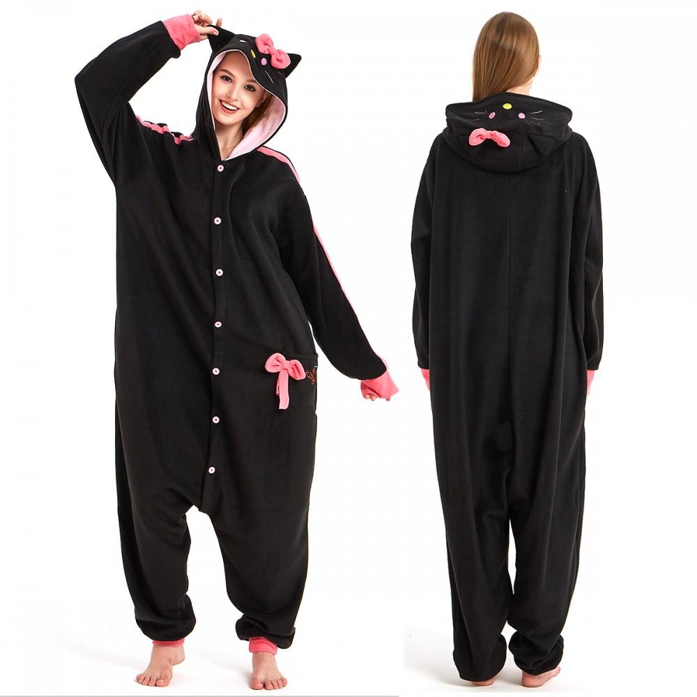 Hello Kitty Onesie Pajamas for Adult & Teens Animal Onesies