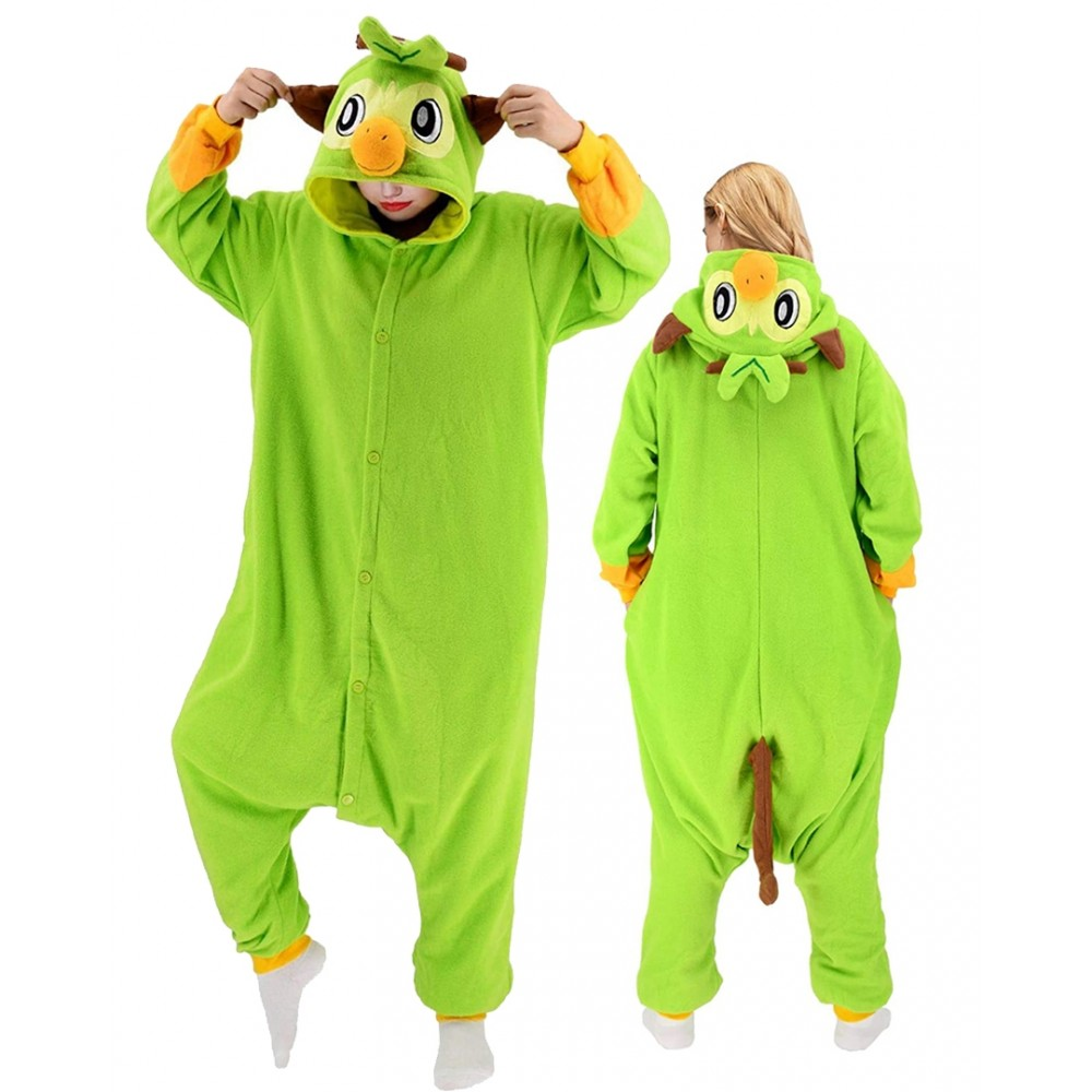 Grookey Onesie for Adults & Teens Pokemon Halloween Costumes