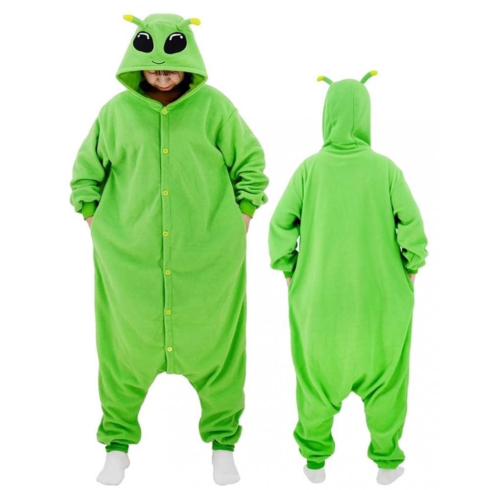 Alien Onesie for Adult & Teens Halloween Costumes
