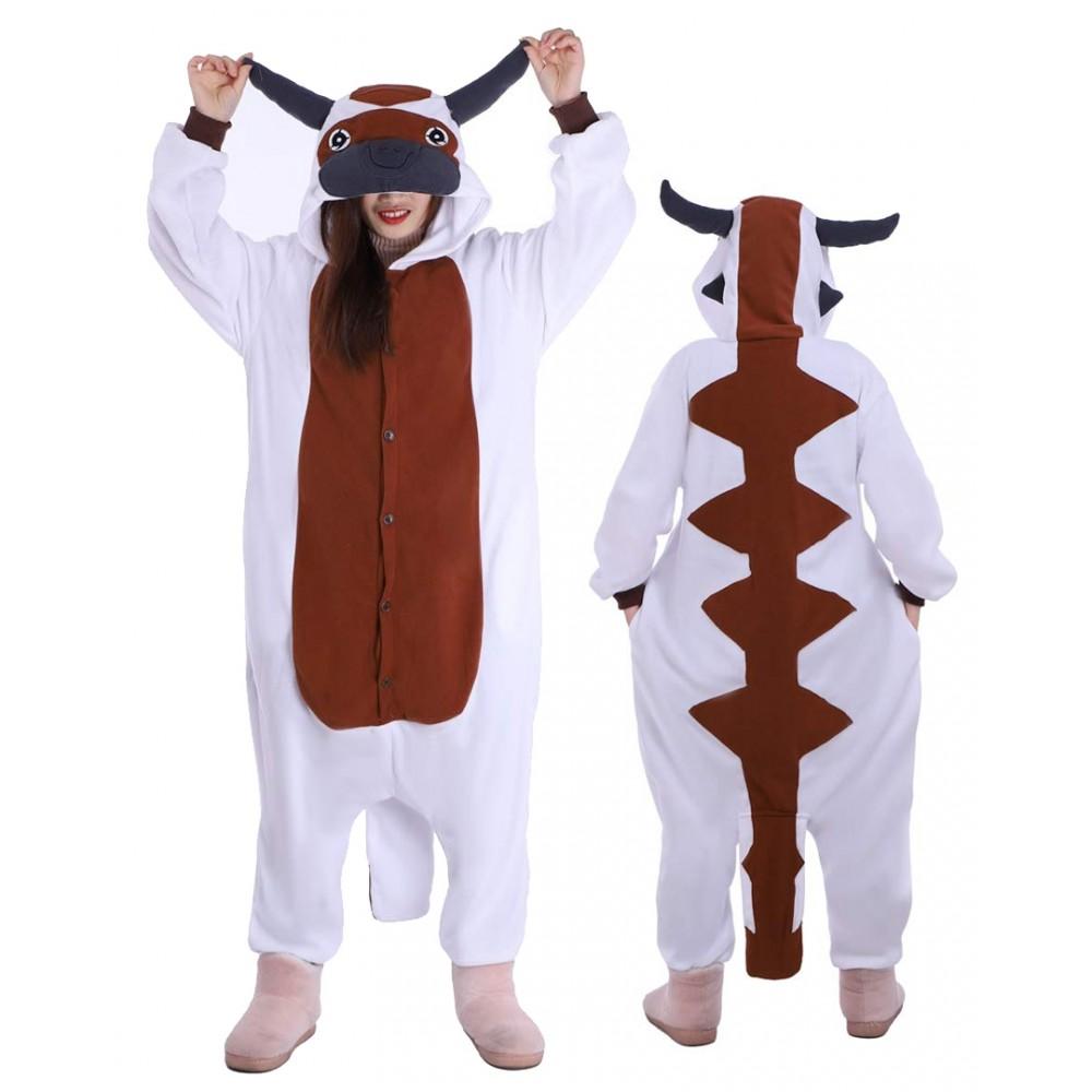 Avatar Appa Onesie Adults & Teens Pajamas Costumes