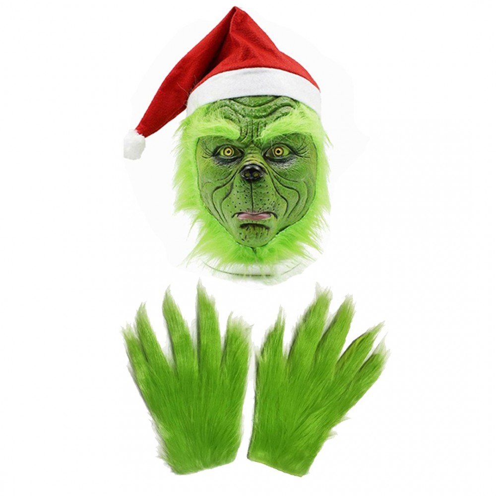Grinch Costume Accessories for Adult & Kids